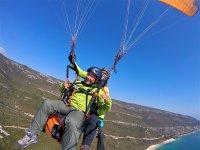 Paragliding air travel Portugal