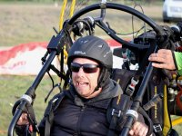 Portugal paramotor scare face