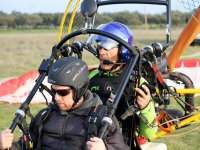 Paramotor take-off in Portugal