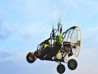 Trike volando in Portogallo