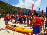 Grupo canoa Arrabida