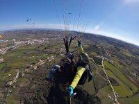 Parapente tandem en Portugal