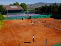 Pista de tenis exterior