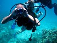 Probar un bautismo de buceo en la Bahía de Palma