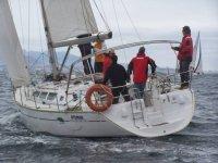 Sailing on the Sailboat