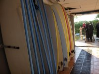 Surf boards for initiation