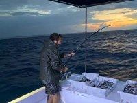 Día de pesca en Mallorca