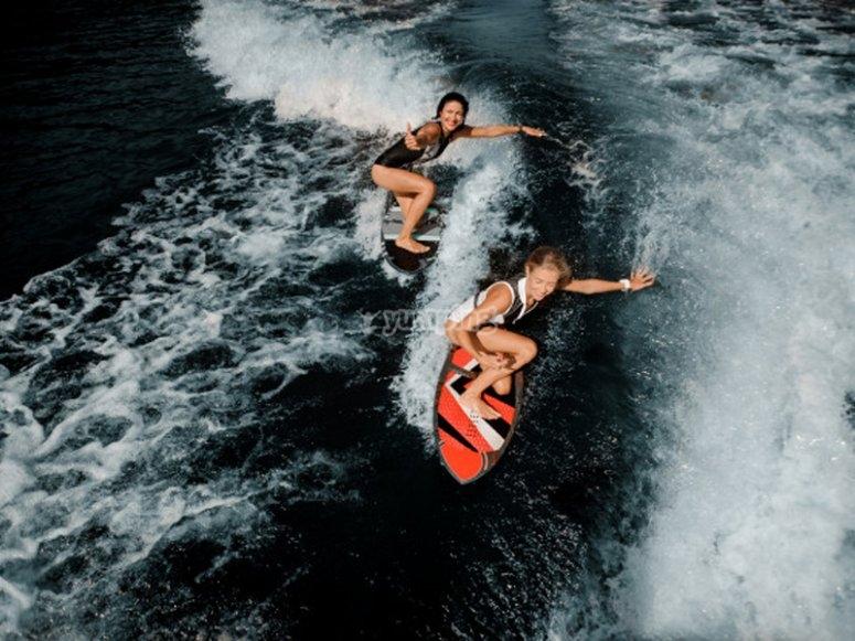 Wakeboard en las Almadrabillas