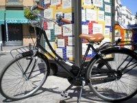 Bici en las calles de Sevilla