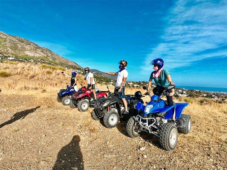 Ruta en quad por la sierra de Mijas