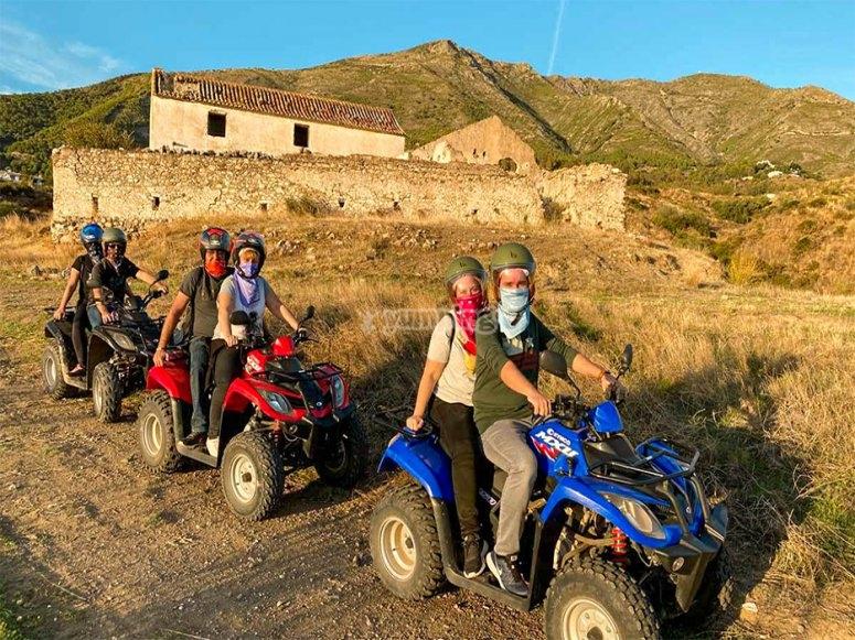 Ruta en quad por la sierra de Alpujata
