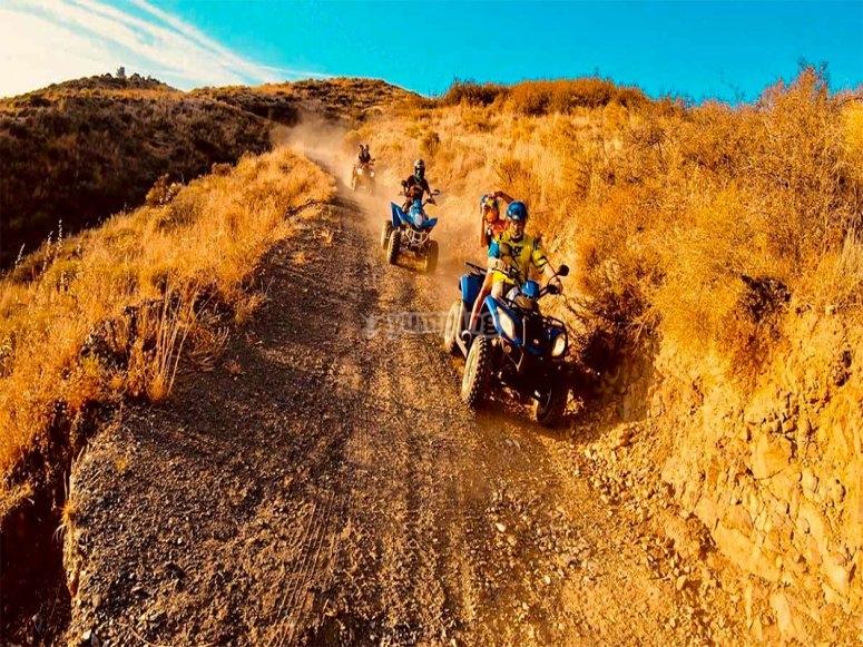 Ruta en quads guiada por la Sierra de Mijas