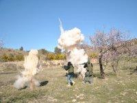 在洛尔卡爆炸之间射击