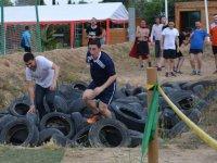 Crossing the tires in Reus