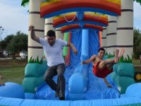 Inflatable games in Reus
