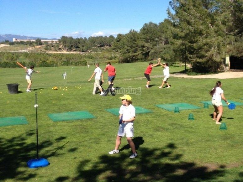 高尔夫训练营