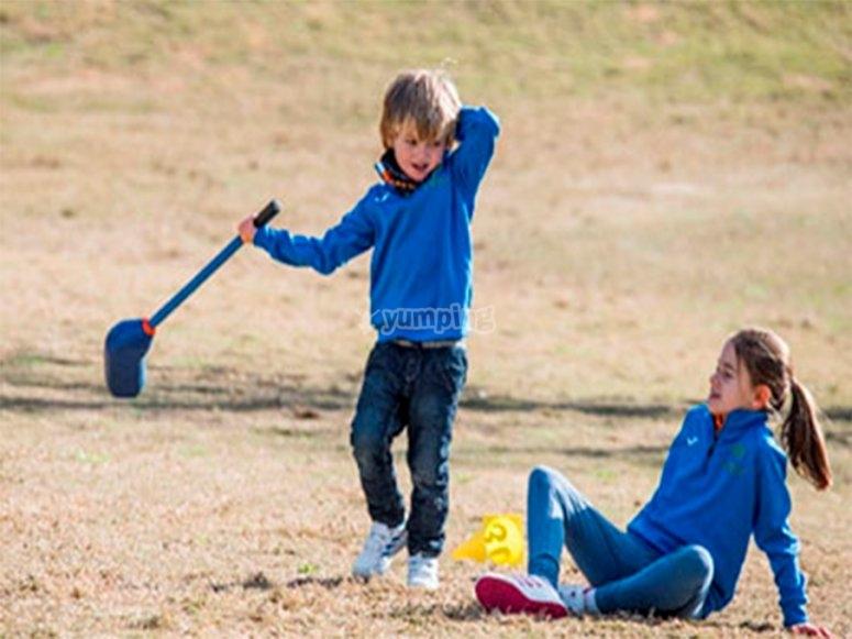 巴利阿里群岛儿童高尔夫营