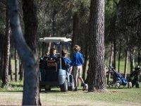 高尔夫训练营的一天