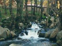 Saltos de agua en la Sierra de Gredos.
