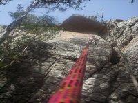 从绳子上看