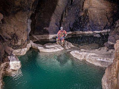 科文托萨洞穴 Los Gours 的洞穴学