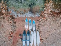 Rental paddle surf on the coast of Torrevieja