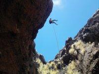 En las alturas con cuerda