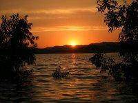 夕阳从防空洞标志拉斯维加斯3卡布拉斯