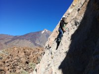 escalada al Teide