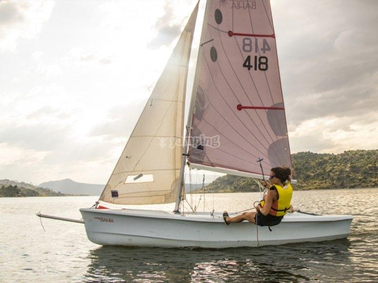 巴塞罗那学习帆船