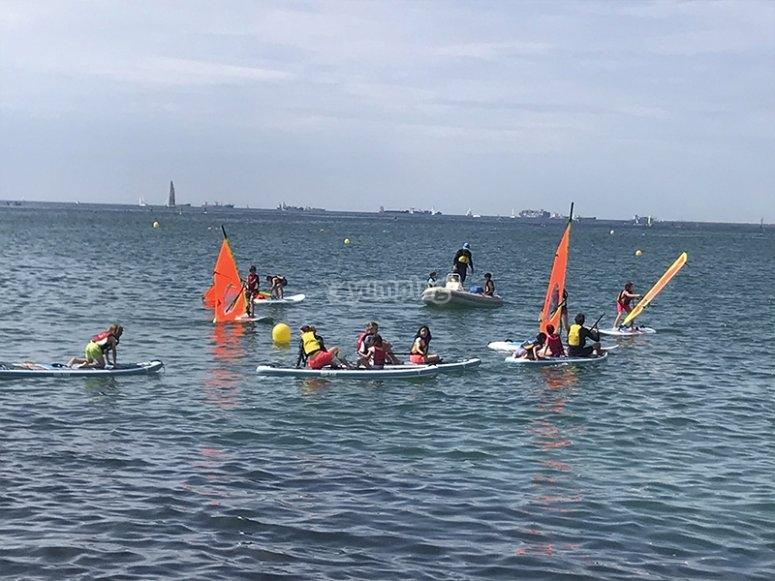巴塞罗那风帆冲浪营