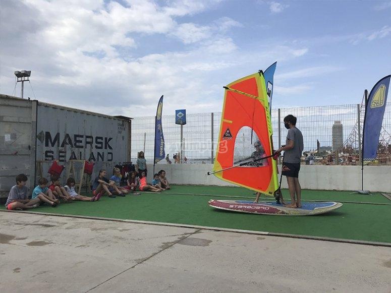 风帆冲浪营日
