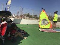 巴塞罗那儿童风帆冲浪营