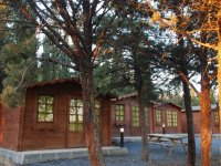 Las cabanas de madera