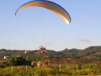 动力伞的飞行经验