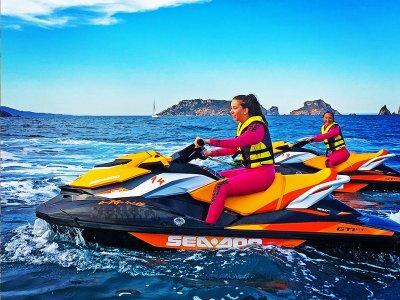 两人座摩托艇之旅 Castelldefels 30 分钟