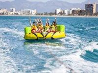 Grupo en Aqua Rocket en Palma
