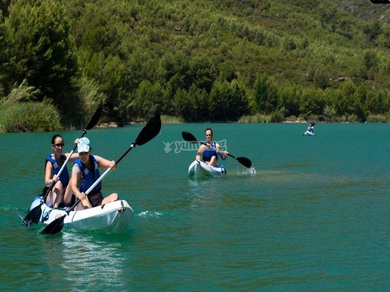 Kayaks individuales y dobles