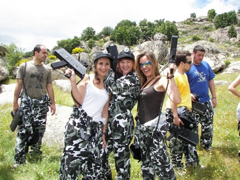Action live despedidas de soltero despedidas de soltero for Action live paintball madrid oficinas