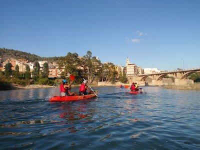 Ruta guiada en Kayak embalse Sitjar en Ribesalbes