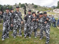 Grupo de guerreros
