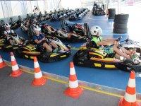 Pilotos en karts circuito de Conil
