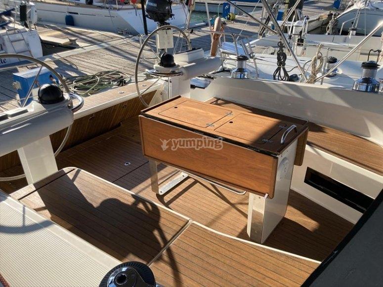 Navegar en velero por Cádiz