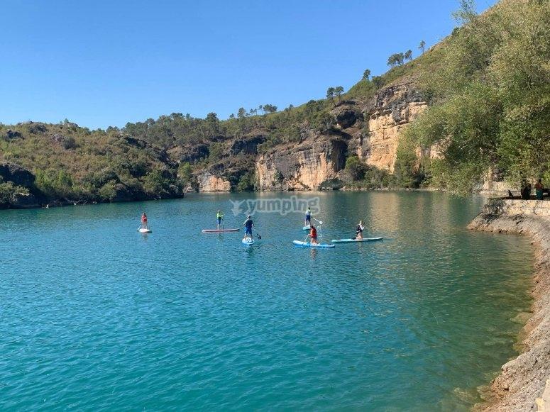 Paddle surf en las Hoces del Guadiela
