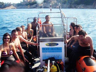 Bwater Diver Despedidas de Soltero