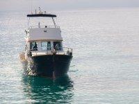 Fondeando en el mar