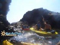 Kayaks por el sur