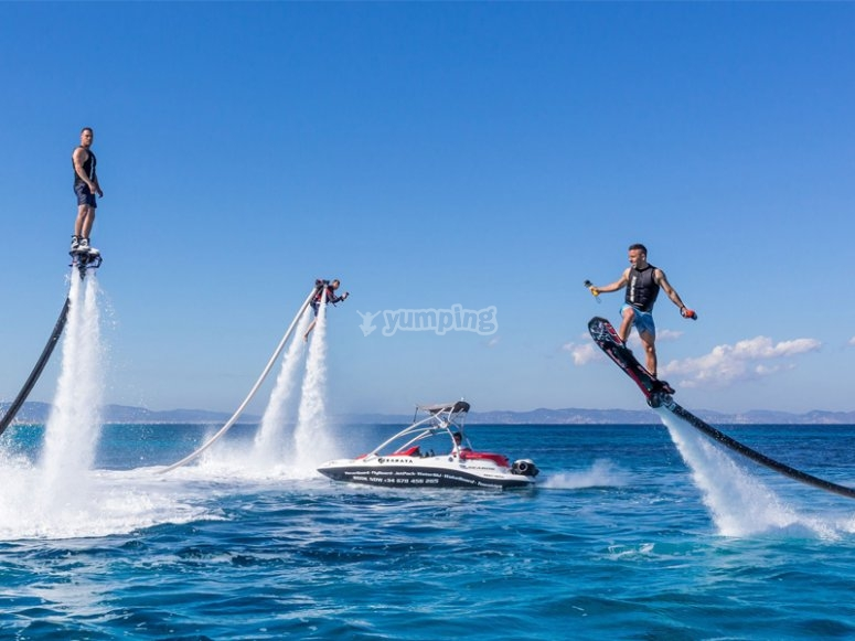 Prova il flyboard a Benidorm