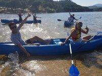 Paseo en canoa doble por el pantano de San Juan 3h
