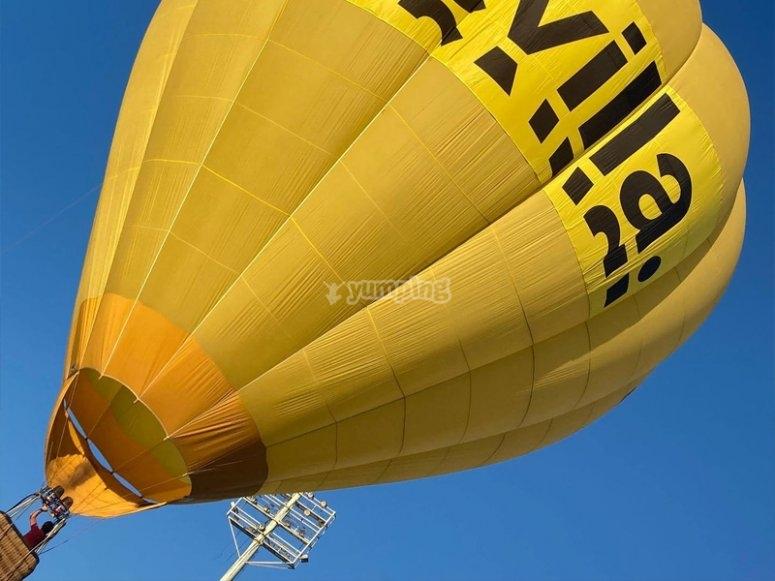 Vuelo en globo privado por Sevilla